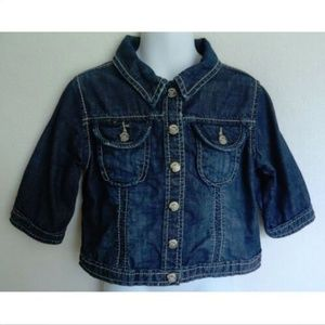 Baby Gap Jacket Denim Blue Jean Spring